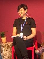 Olja Savicevic at Edinburgh Book Festival